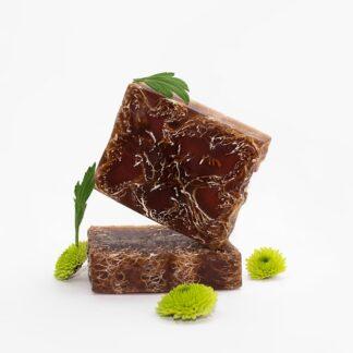 Мило-мочалка з люфою какао боби плитка