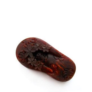 Мило-мочалка з люфою какао боби туфелька
