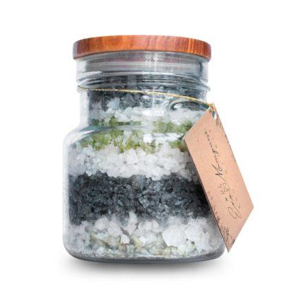 Рапна сіль для ванн з бетакаротином Солоне сяйво 650 г