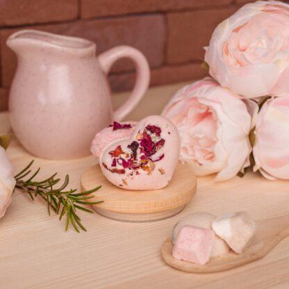Бомбочка для ванн Трояндове серце